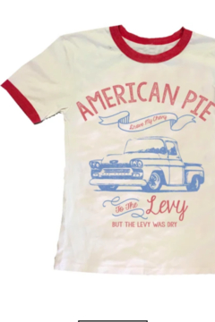 Rowdy Sprout American Pie tee - Alternate List Image