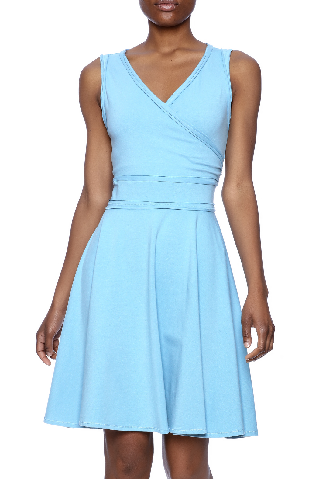American South Side Our Favorite Dress - Front Cropped Image