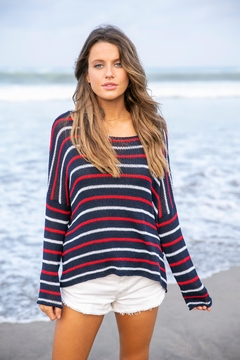Wooden Ships American Stripe Sweater - Product List Image