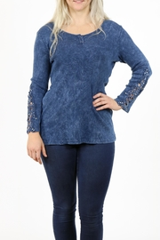 American Age 3 Button Henley - Front cropped