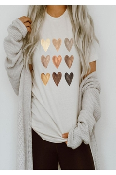 American Apparel Heart Graphic Tee - Product List Image