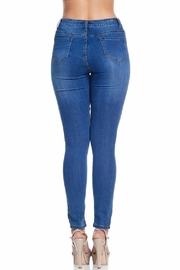 American Bazi Classic Blue Jeans - Back cropped