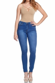 American Bazi Classic Blue Jeans - Front cropped