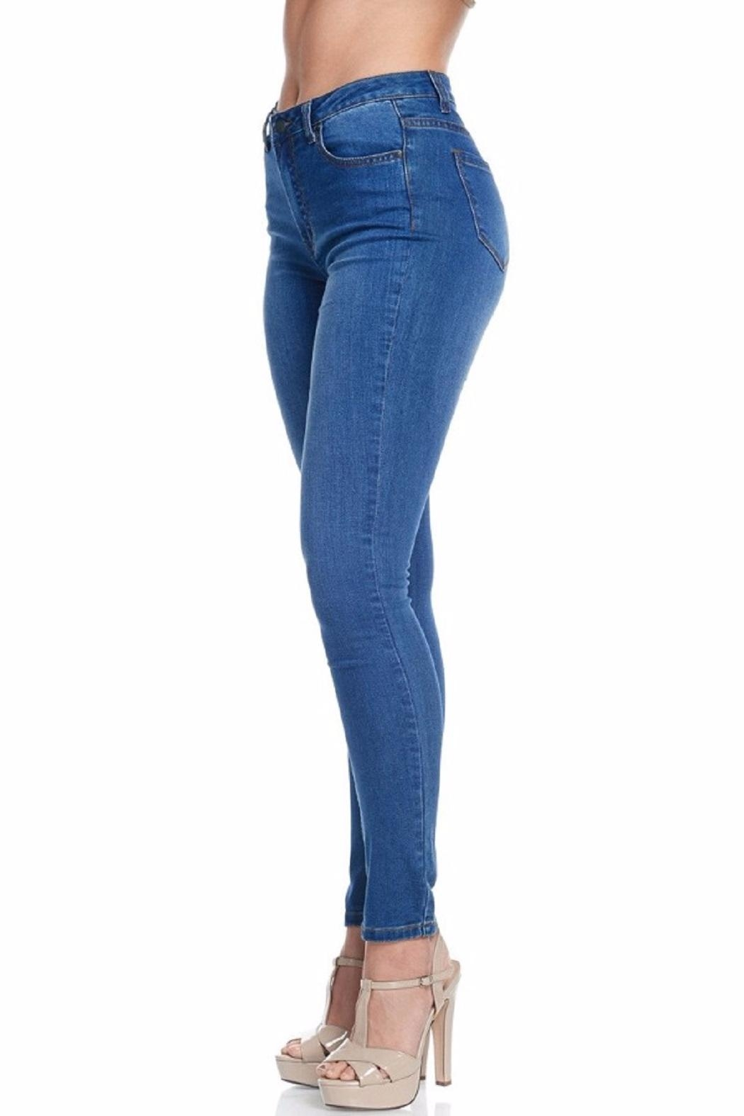 American Bazi Classic Blue Jeans - Side Cropped Image