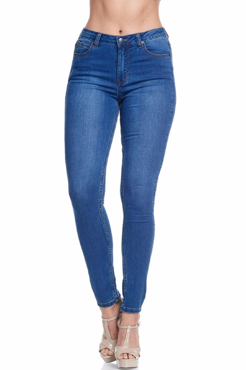 American Bazi Classic Blue Jeans - Front Full Image