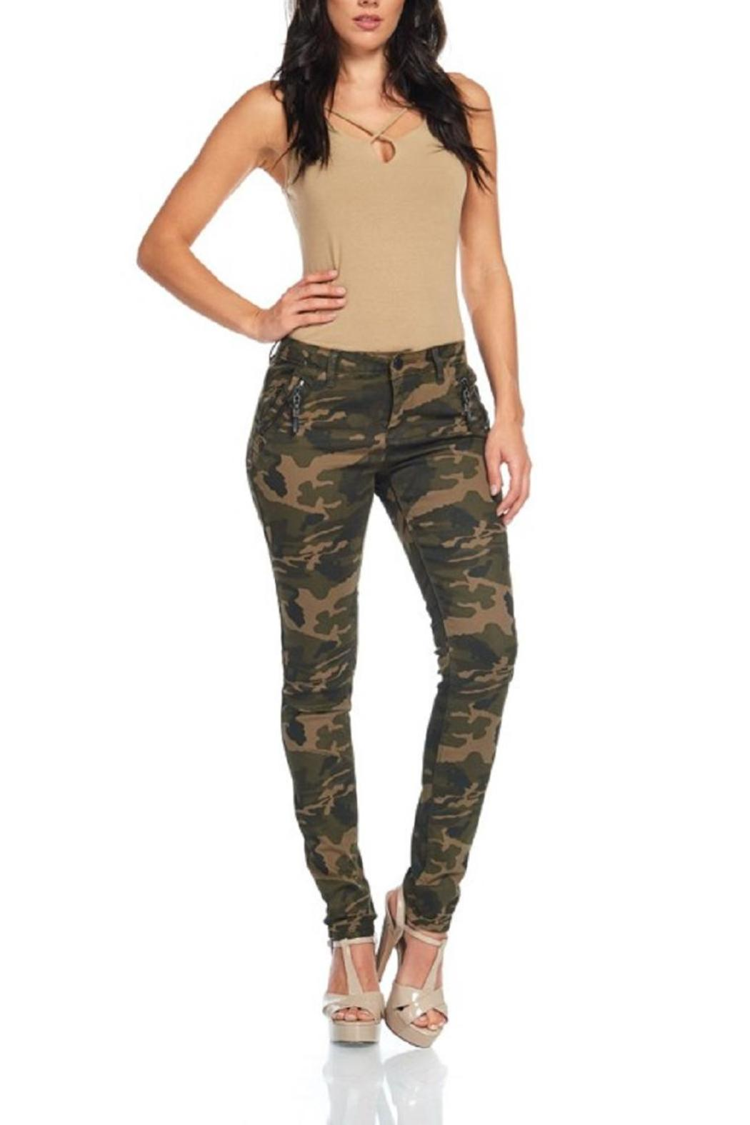 American Bazi Washed Camo Pants - Main Image