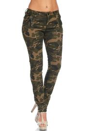 American Bazi Washed Camo Pants - Side cropped
