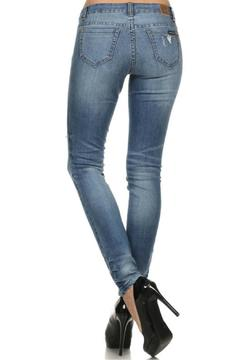 Shoptiques Product: Faded Distressed Jeans