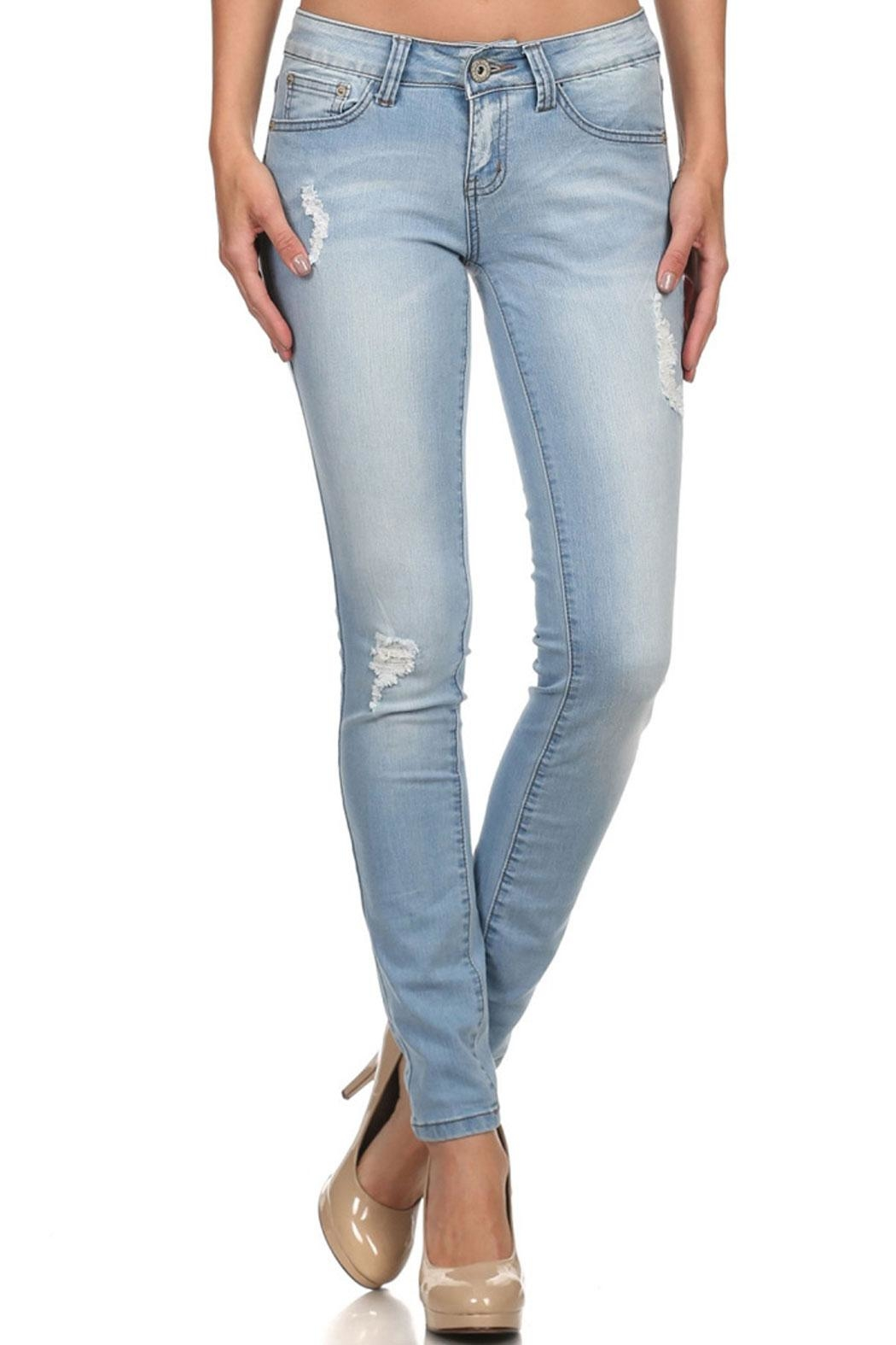 American Blue Victoria Distressed Jeans - Main Image
