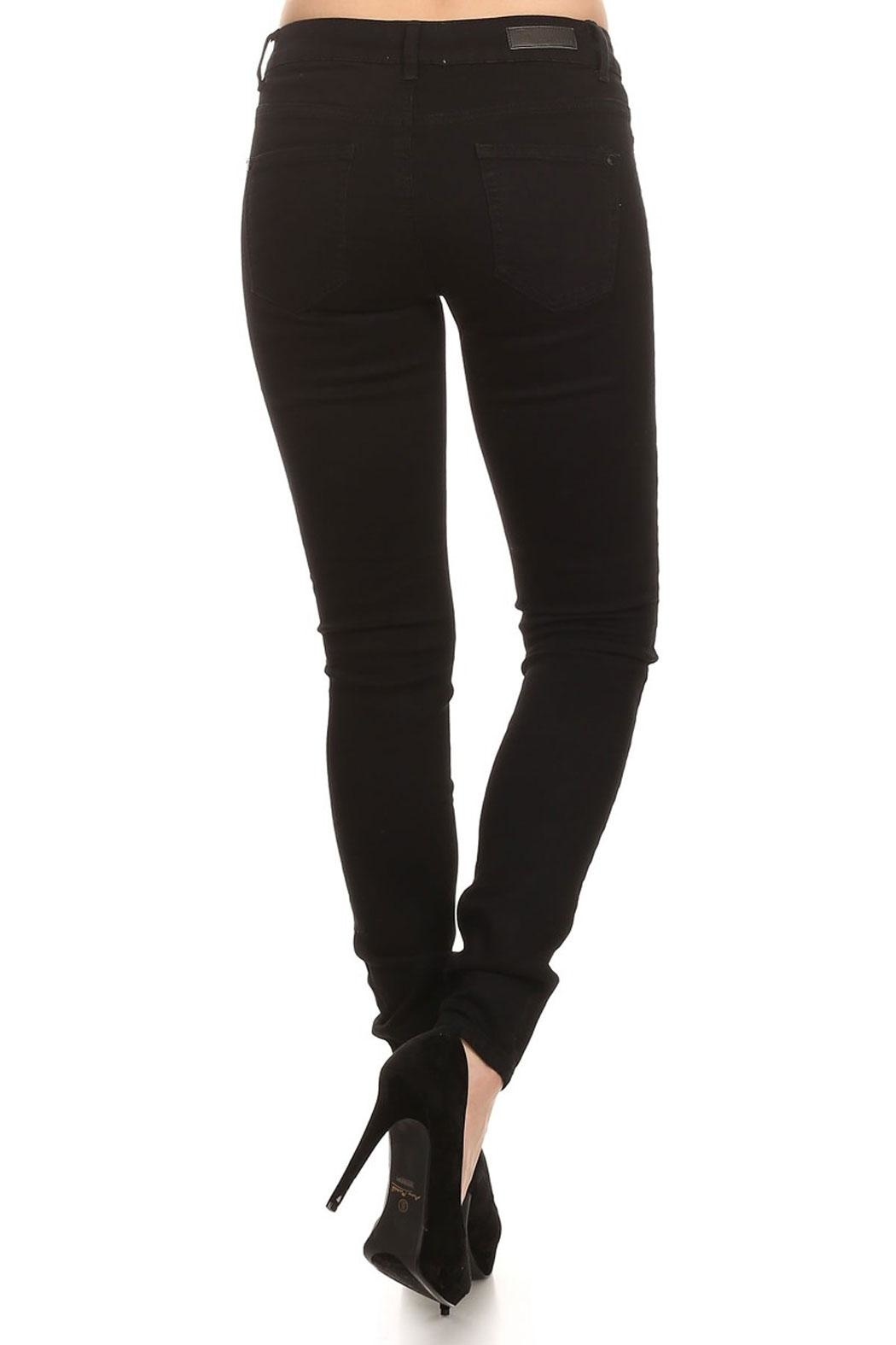 American Blue Viola Distressed Jeans - Side Cropped Image