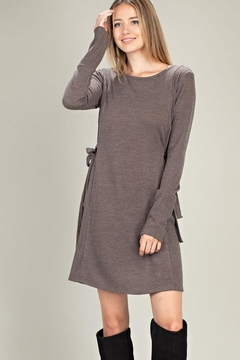 American Chic Knit Tie Dress - Alternate List Image