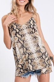 American Chic Snakeskin Cami Top - Product Mini Image