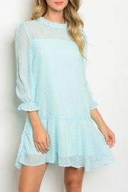 American clothing, Inc Mint Mini Dress - Product Mini Image