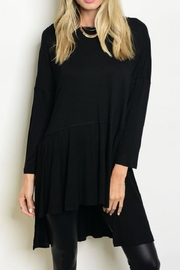American clothing, Inc Isadora Black Tunic Top - Product Mini Image