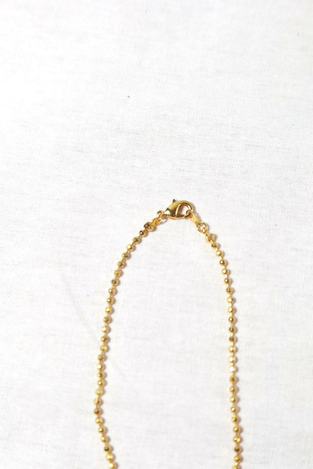 American Dance Supply Ballerina Necklace - Back Cropped Image