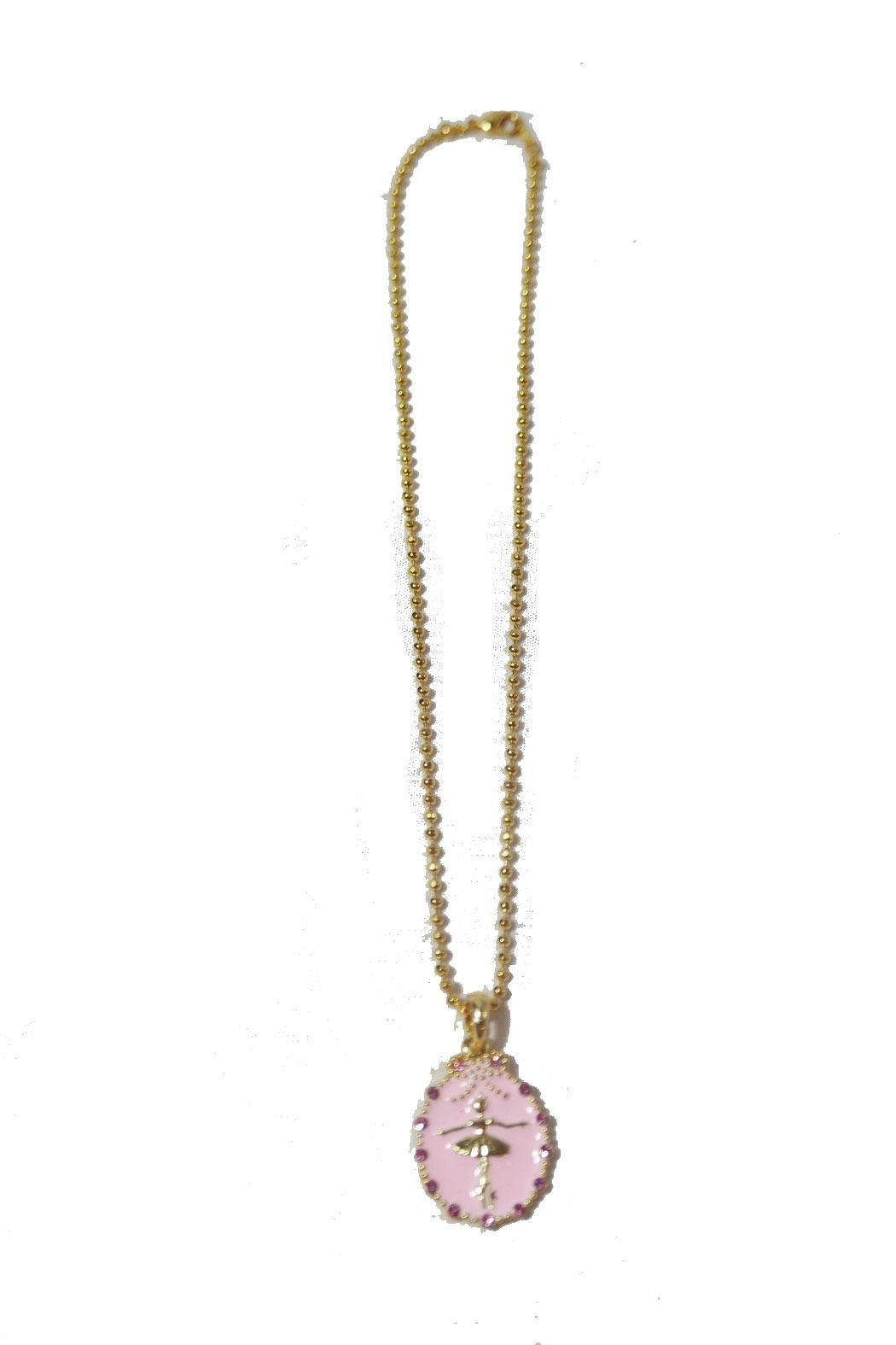 American Dance Supply Ballerina Necklace - Front Full Image