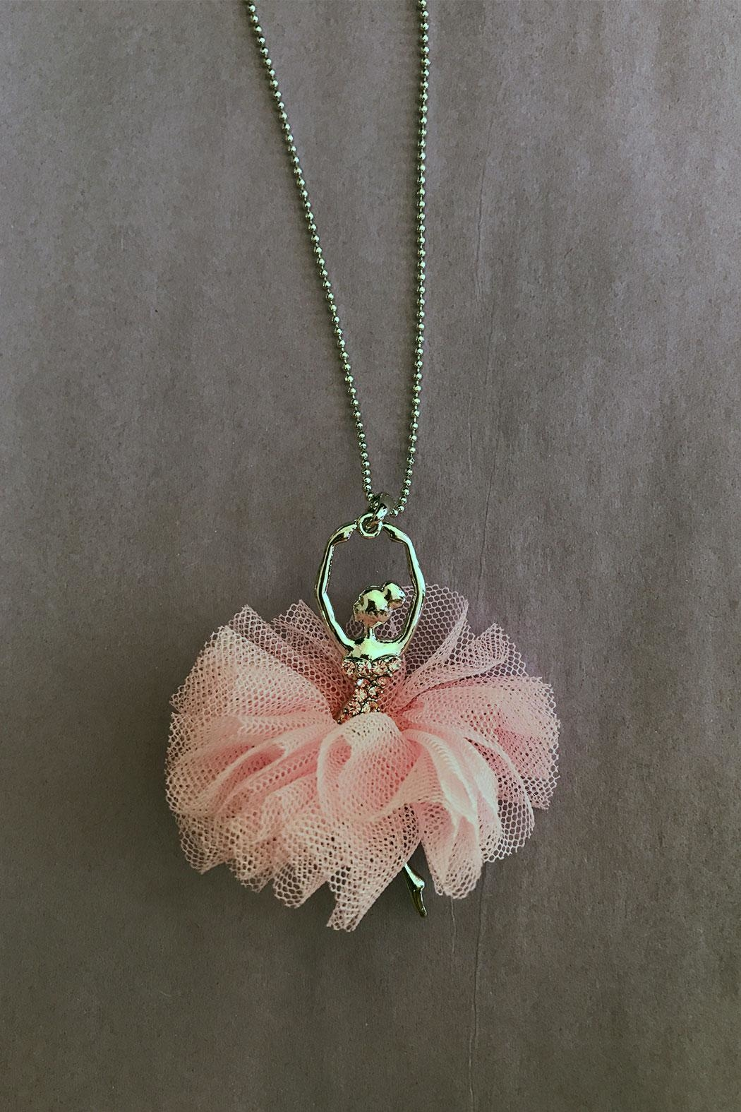 American Dance Supply Ballerina Tutu Necklace - Main Image