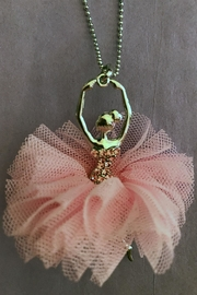 American Dance Supply Ballerina Tutu Necklace - Front full body