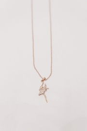 American Dance Supply Bronze Ballerina Necklace - Product Mini Image