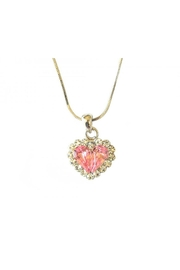 American Dance Supply Heart Necklace - Front cropped