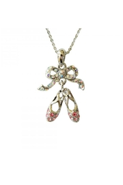 American Dance Supply Pointe Shoes Necklace - Front cropped