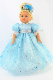 American Fashion World Doll Blue Gown - Front cropped