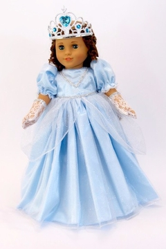 American Fashion World Doll Cinderella Gown - Product List Image