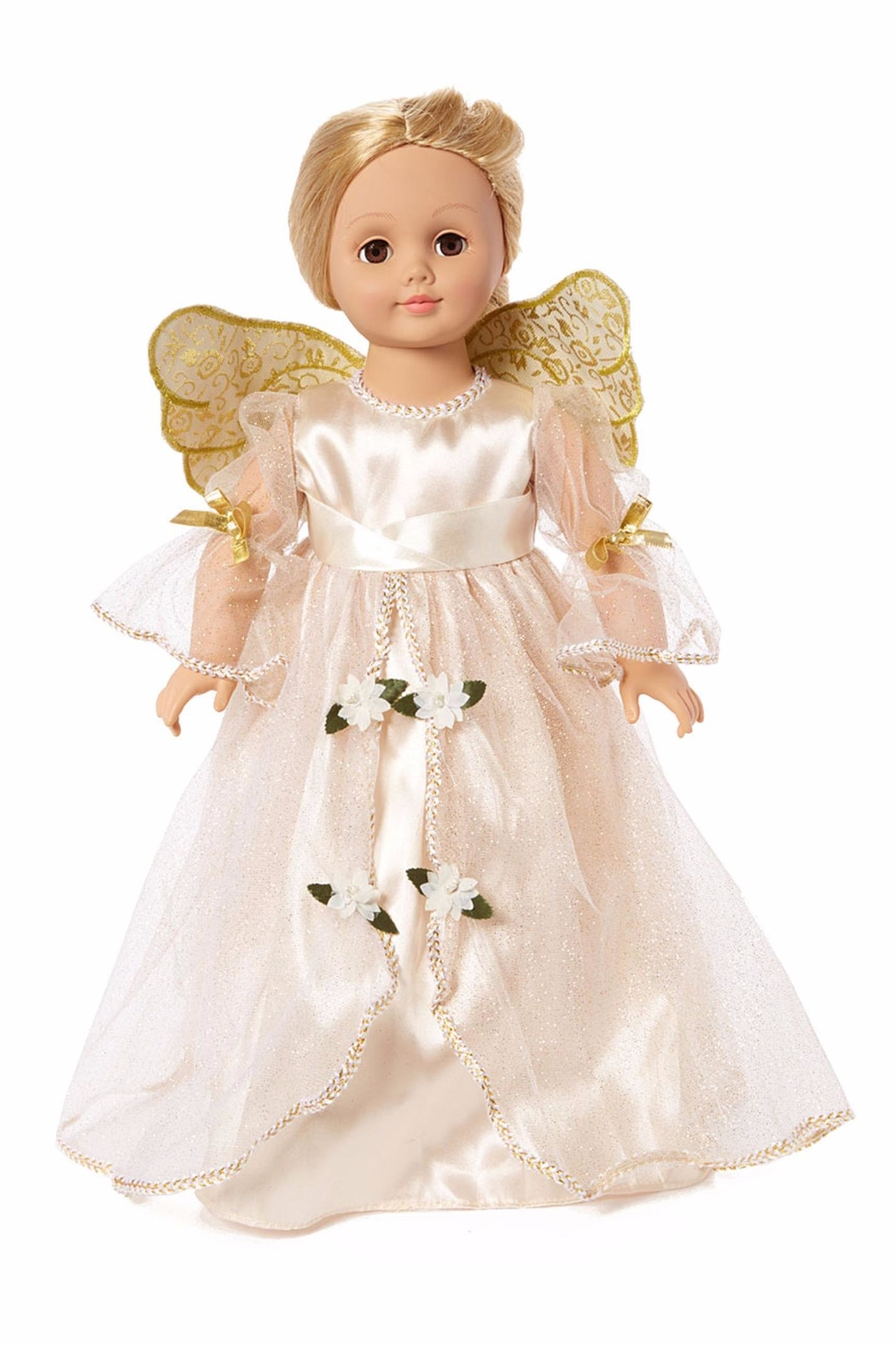 American Fashion World Doll Golden Angel - Front Cropped Image
