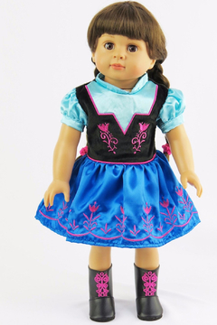American Fashion World Doll Party Dress - Product List Image