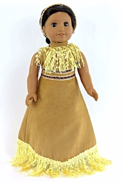 American Fashion World Doll Pocahontas Dress - Product List Image