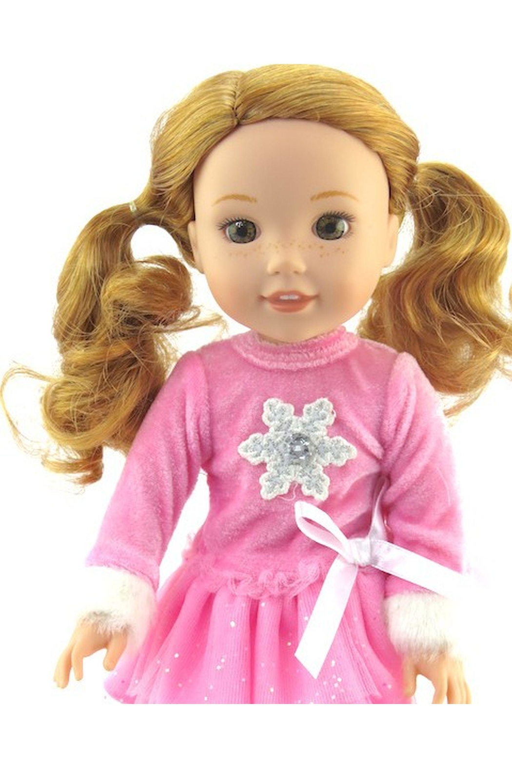 American Fashion World Doll Snowflake Outfit - Front Full Image
