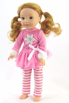American Fashion World Doll Snowflake Outfit - Product List Image