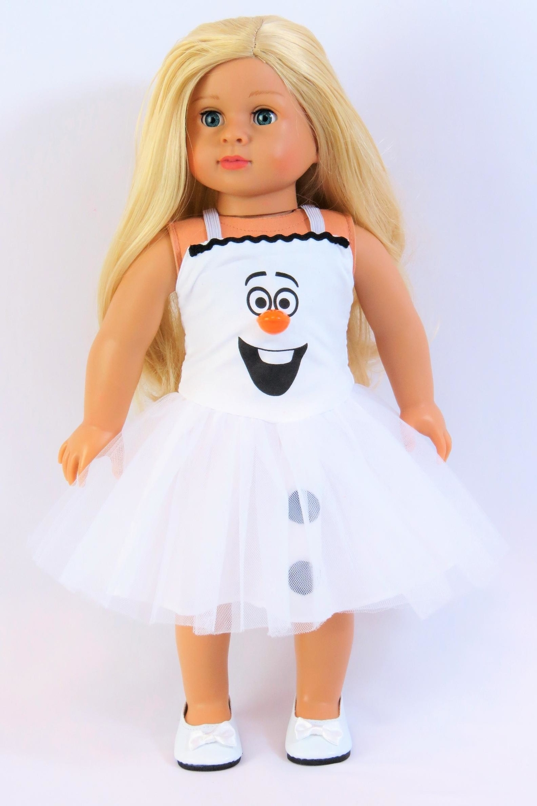 American Fashion World Doll Snowman Dress - Main Image