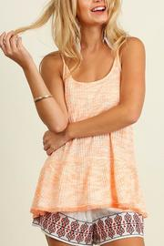 American Fit Sleeveless Marled Top - Product Mini Image