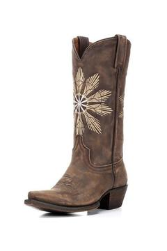 Shoptiques Product: Cheyenne Saddle Boot