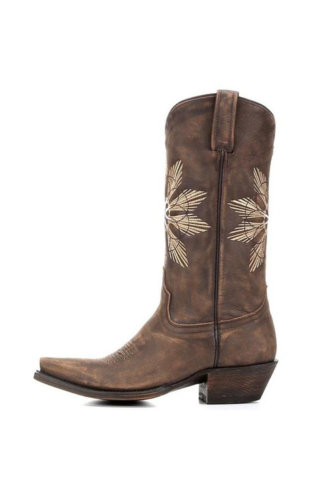 American Rebel Boot Company Cheyenne Saddle Boot - Side Cropped Image
