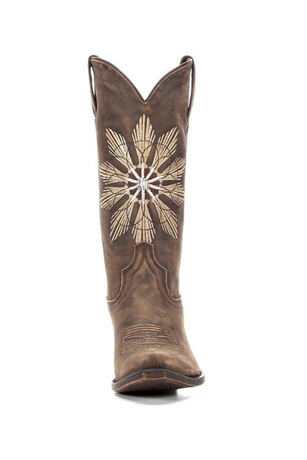 American Rebel Boot Company Cheyenne Saddle Boot - Front Full Image