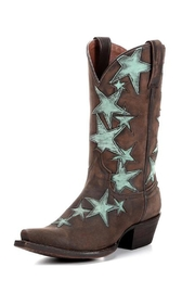American Rebel Boot Company Country Star Cowgirl Boots - Front cropped