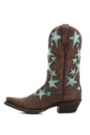 American Rebel Boot Company Country Star Cowgirl Boots - Side cropped