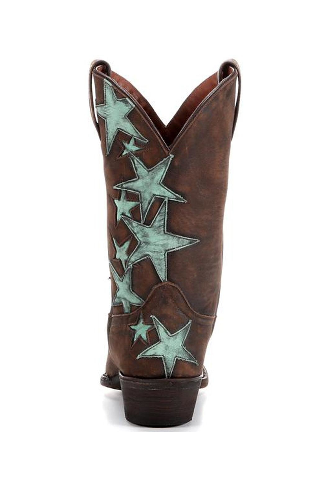 American Rebel Boot Company Country Star Cowgirl Boots - Back Cropped Image