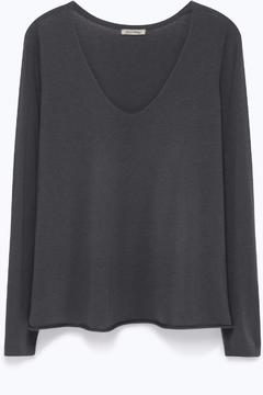 Shoptiques Product: Grey Knitted Jumper