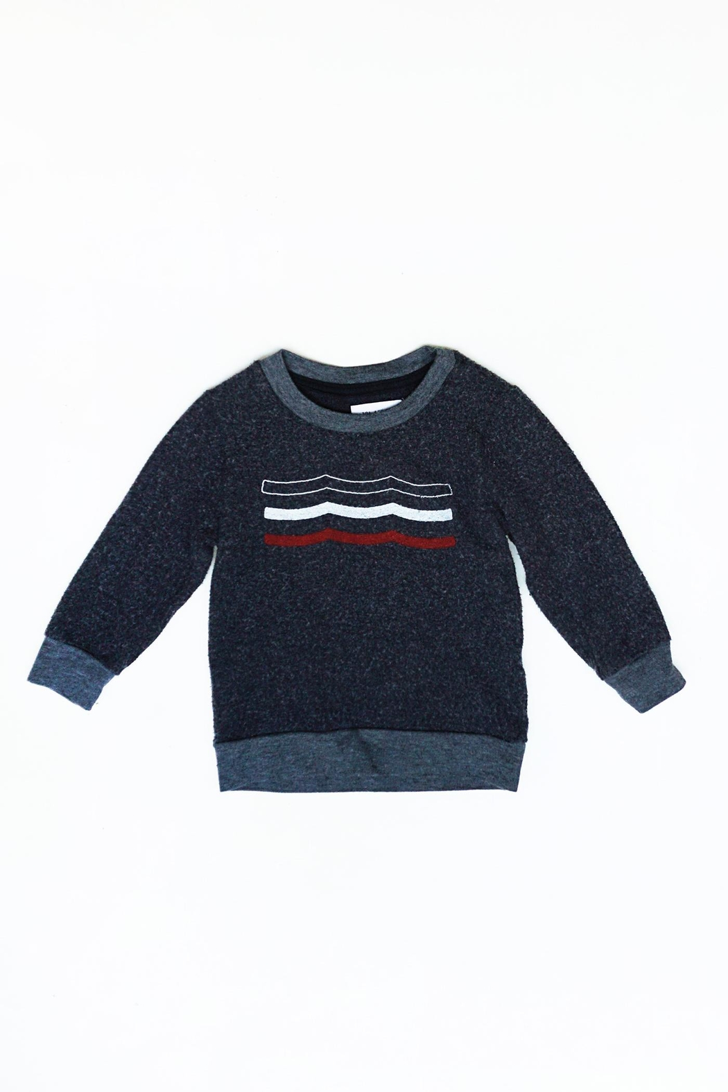 Sol Angeles Americana Waves pullover - Front Full Image