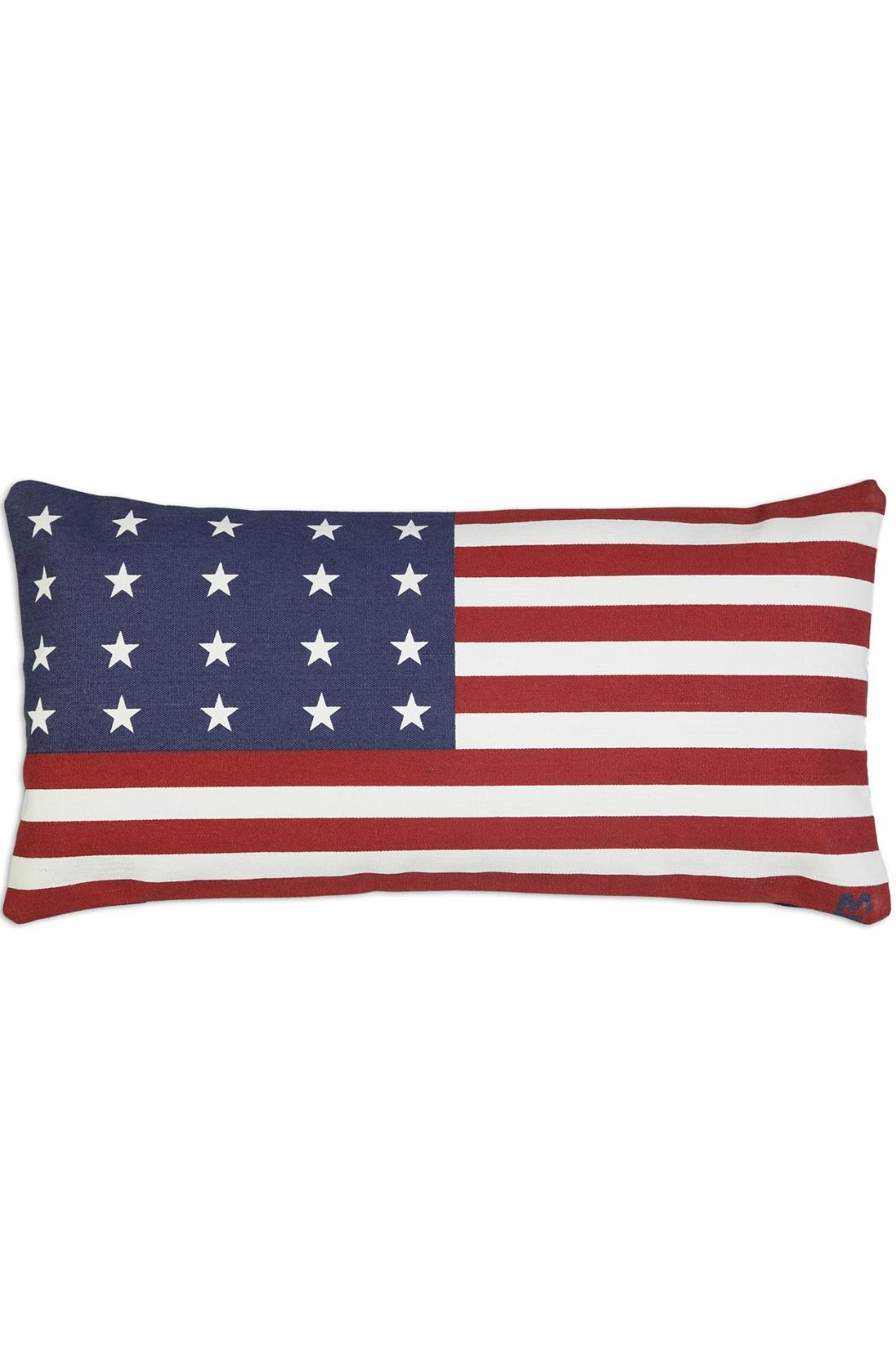 Chandler 4 Corners Americanflag Canvas Pillow - Main Image