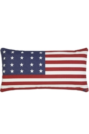 Chandler 4 Corners Americanflag Canvas Pillow - Front cropped