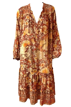 Spell & the Gypsy Collective Amethyst Boho Dress - Product List Image