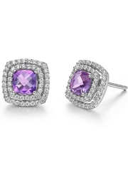Lafonn Amethyst Earrings - Product Mini Image