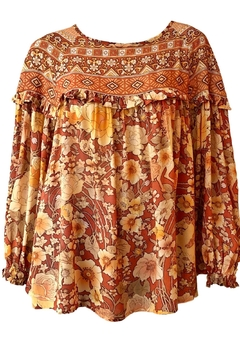 Spell & the Gypsy Collective Amethyst Flowy Blouse - Product List Image