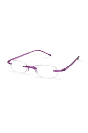 The Birds Nest AMETHYST GELS +1.25 SCOJO READING GLASSES - Product Mini Image