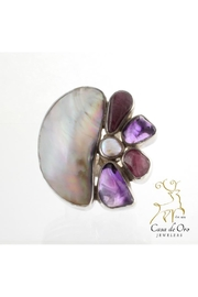 CDO  Amethyst Oyster Ring - Product Mini Image