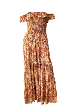 Spell & the Gypsy Collective Amethyst Shirred Sundress - Product List Image